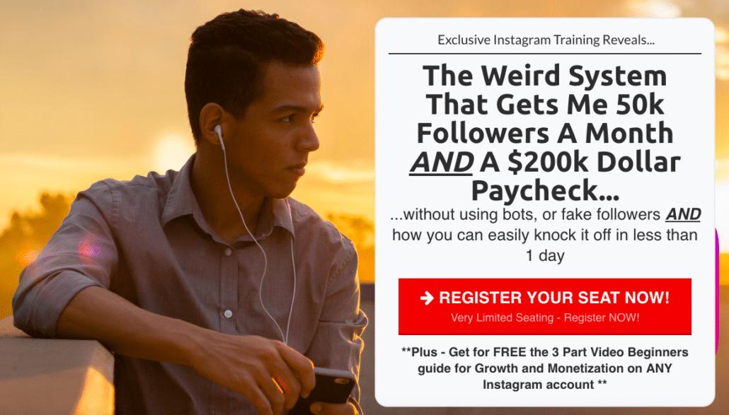 Instagram course affiliate