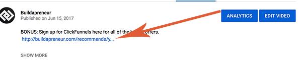 Adding YouTube Money Products