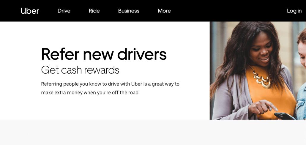 Uber Affiliate programs