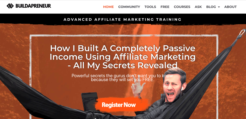 Affiliate Marketing Niche - Buildapreneur