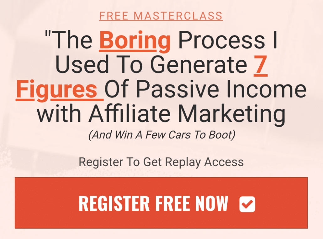 Free Affiliate Marketing Business Training
