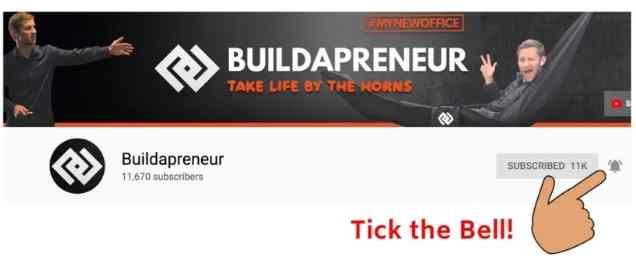 Buildapreneur YouTube Channel