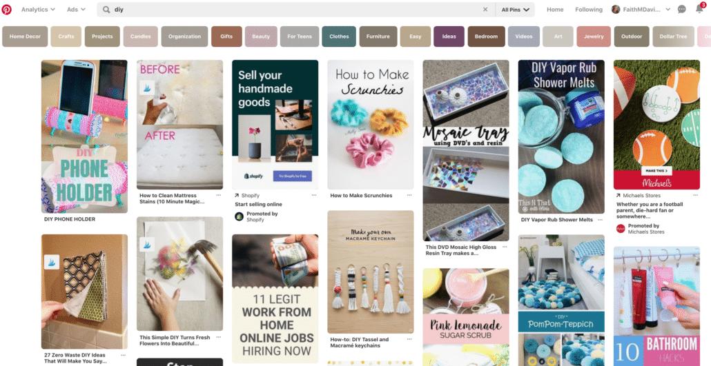 Pinterest Visual Search Engine