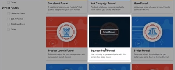 lead funnel templates