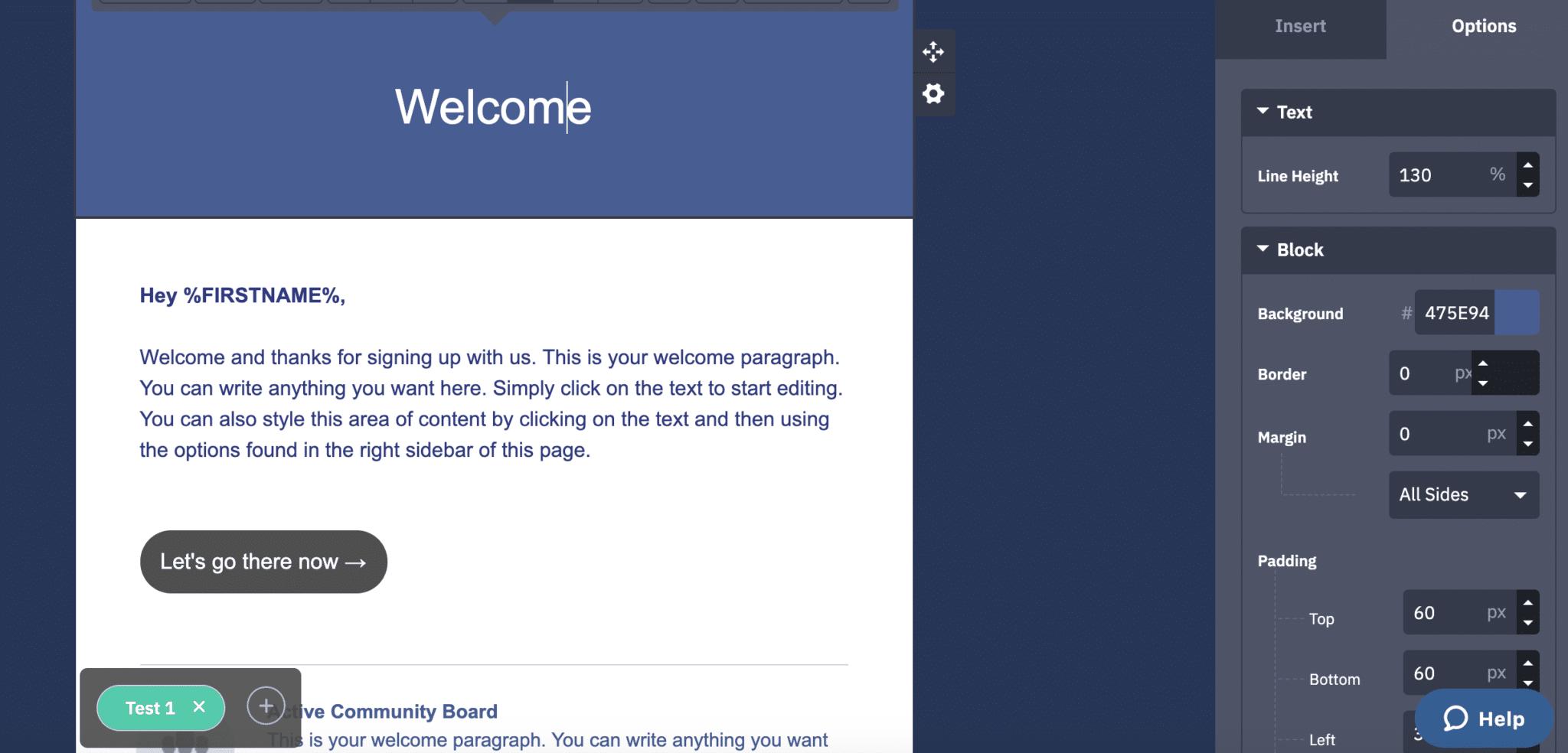 ActiveCampaign vs ConvertKit email bulder