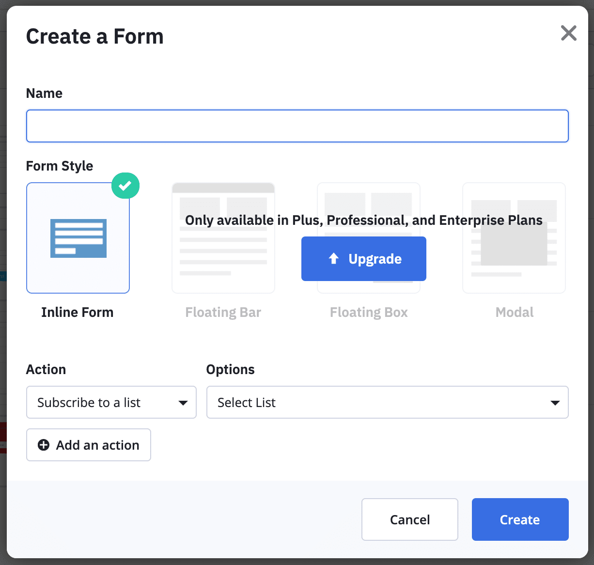 ActiveCampaign vs ConvertKit Form Differences
