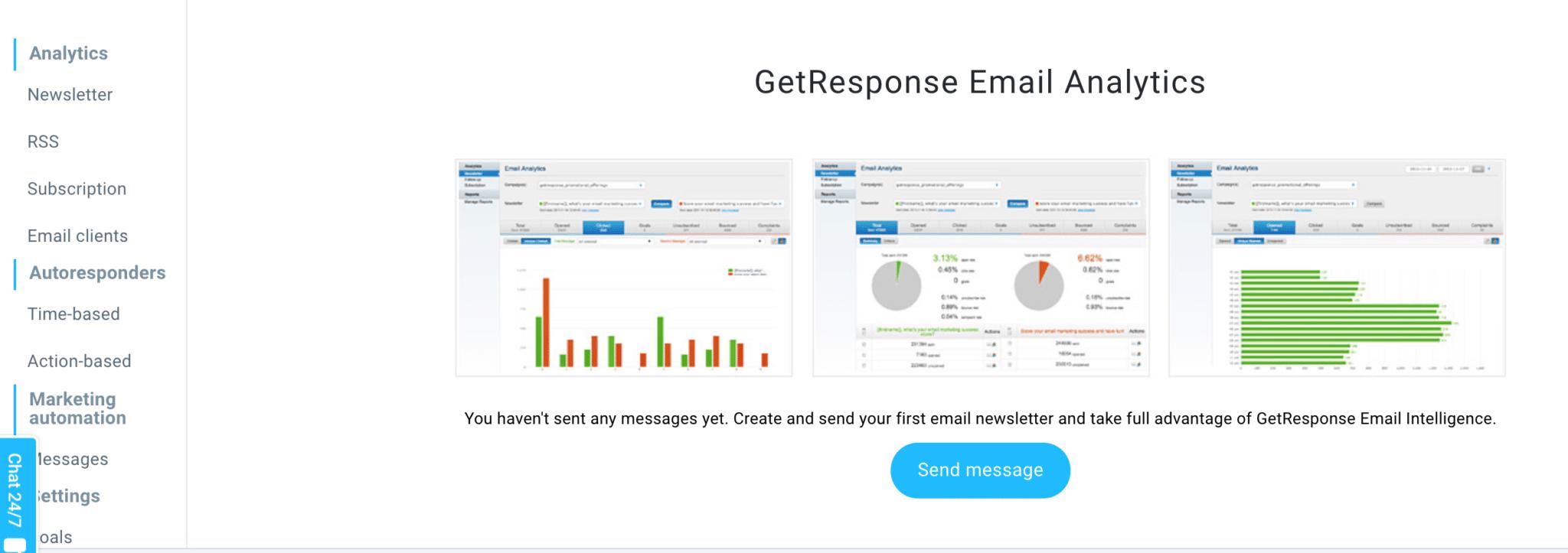 GetResponse Reporting