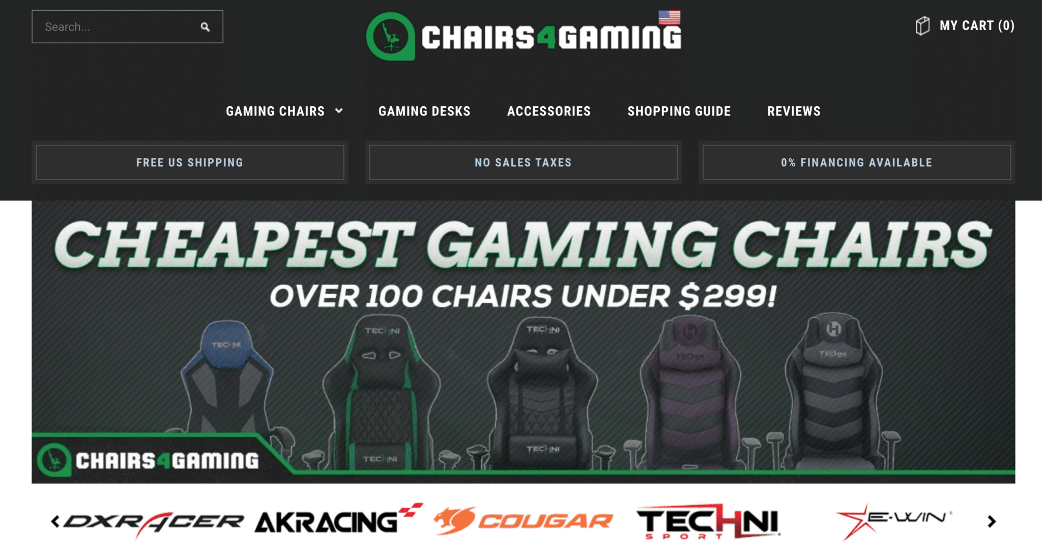 gaming affiliates chairs4gaming