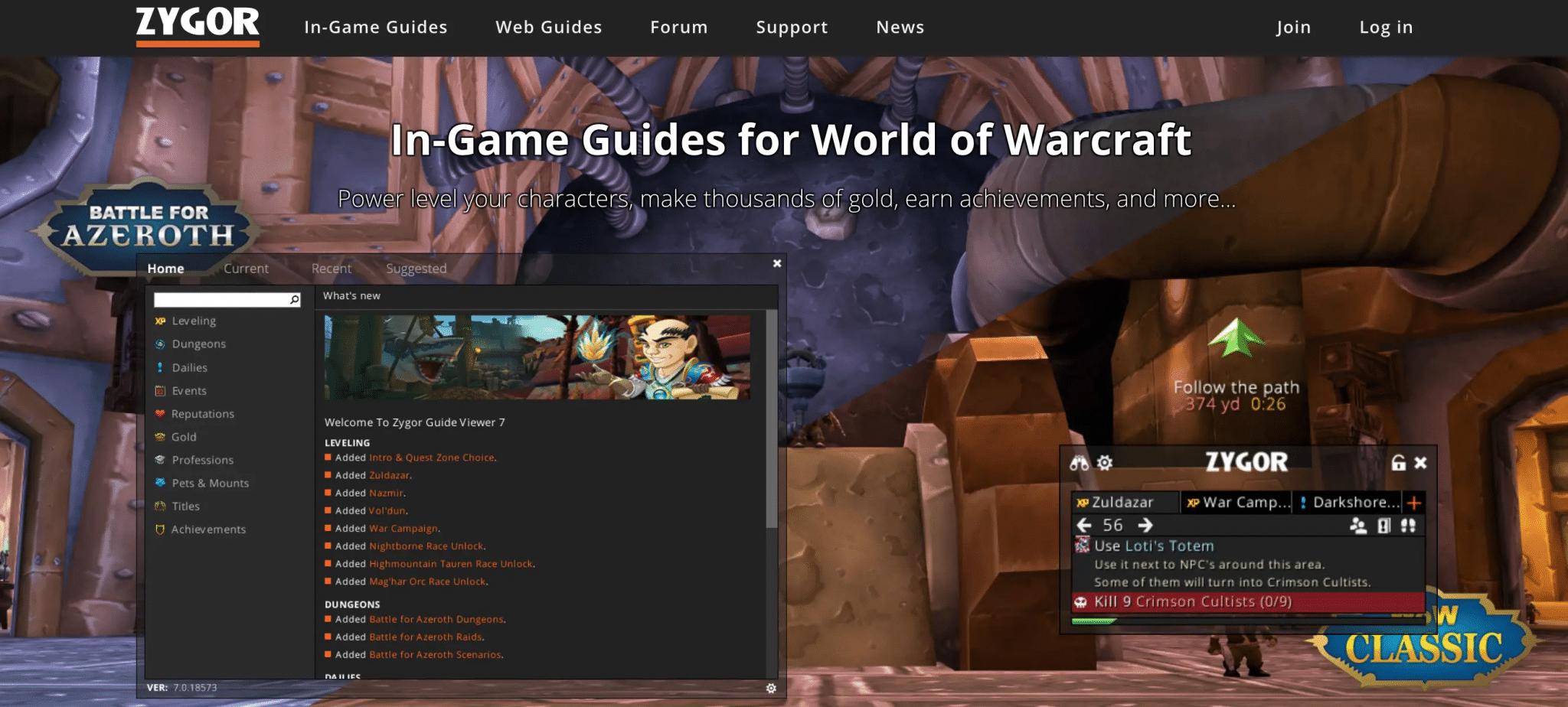 Online gaming affiliate programs Zygor