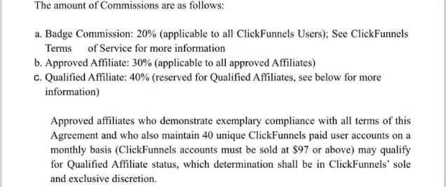 cickfunnels affiliate commissions