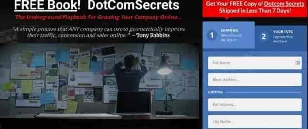 Dot Com Secrets Clickfunnels