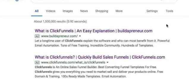 click funnels affiliate marketing tip