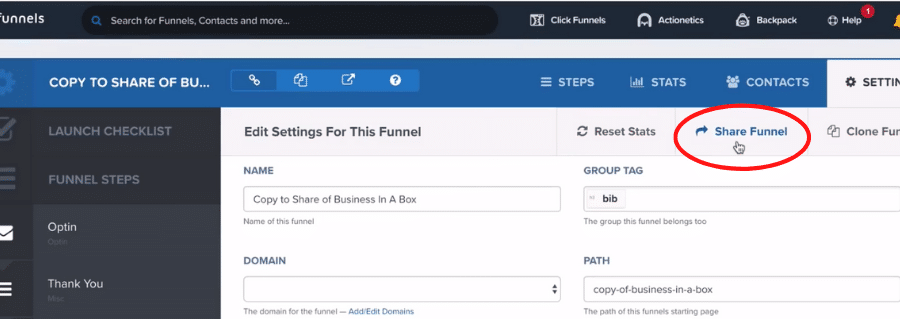 clickfunnels affiliate share funnel 5
