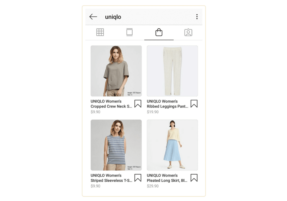 Shoppable Instagram Links