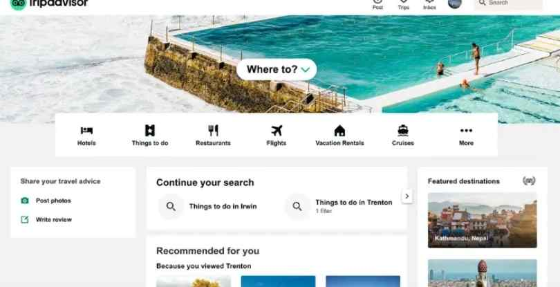 affiliate marketing on pinterest without a blog TripAdvisor