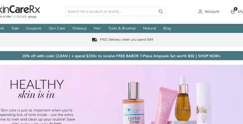 pinterest affiliate marketing SkinCareRx
