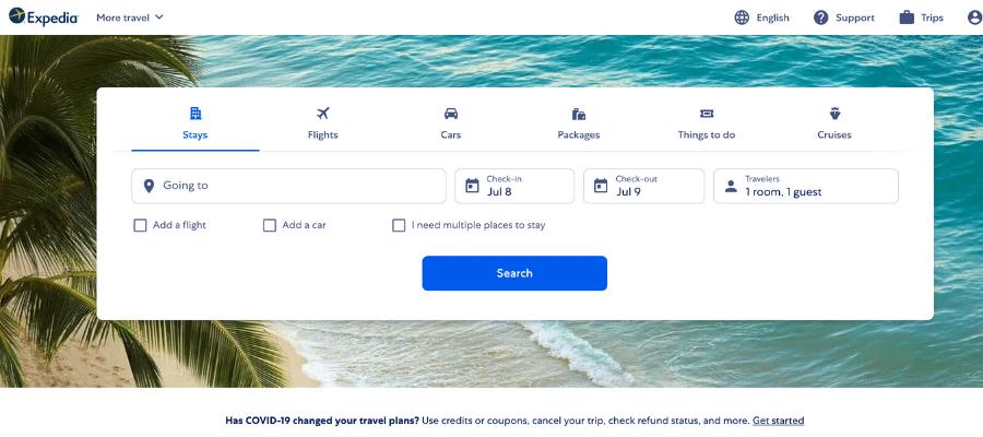 Expedia best travel affiliate programs