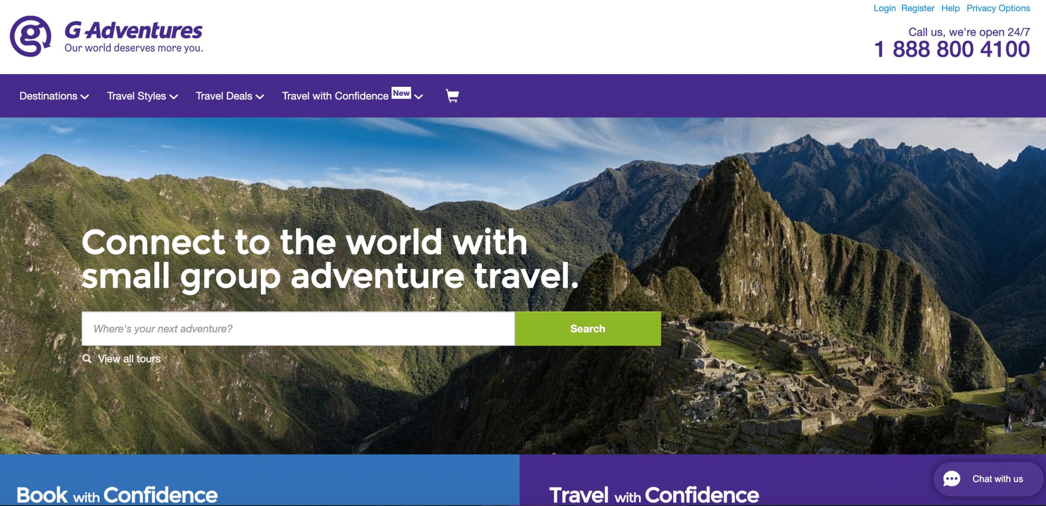 G Adventures best travel affiliate programs