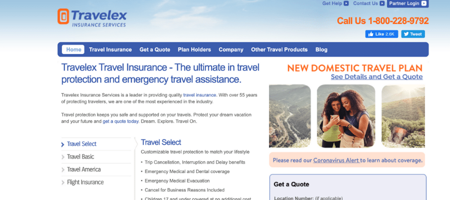 Travelex travel insurance affiliate programs