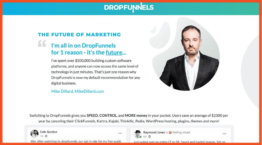 DropFunnels ClickFunnels Alternatives