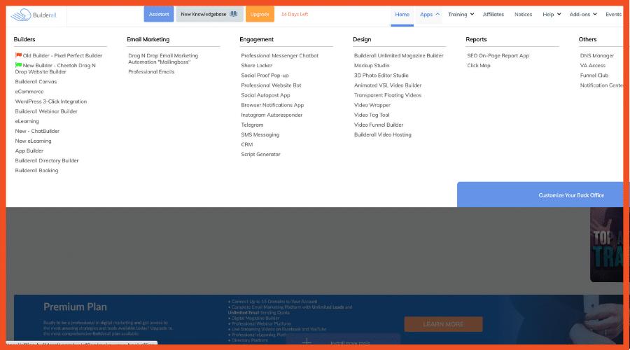 Builderall ClickFunnels Alternatives