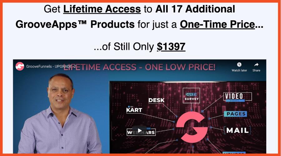 Groove Lifetime Access ClickFunnels Alternatives