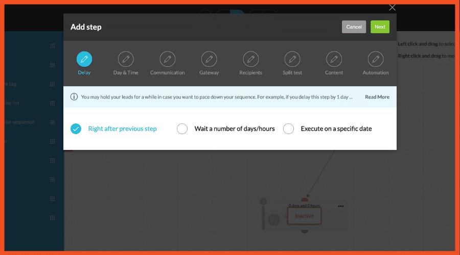 Kartra Email Options for ClickFunnels Alternatives