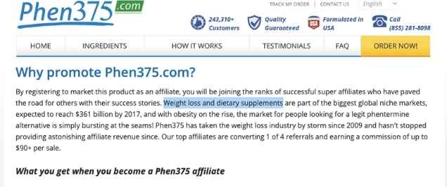 health affiliate program