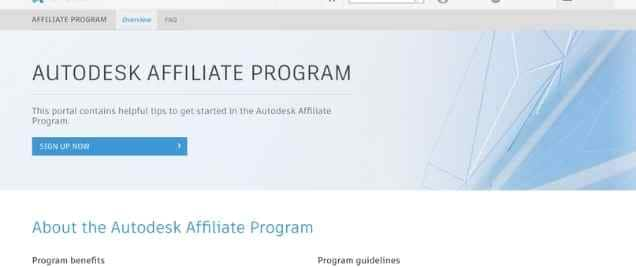 Autodesk Affiliate Program