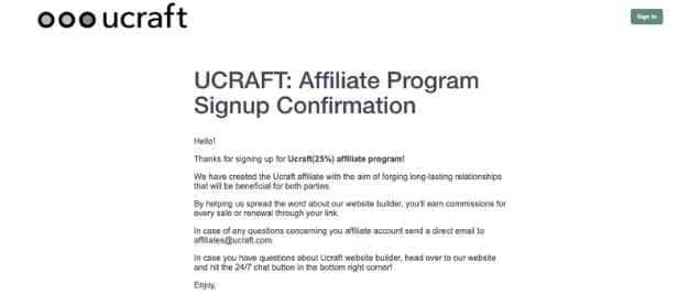 Ucraft Affiliate Program