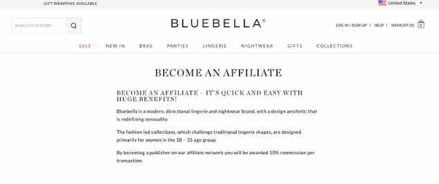 Bluebella Affiliate Program