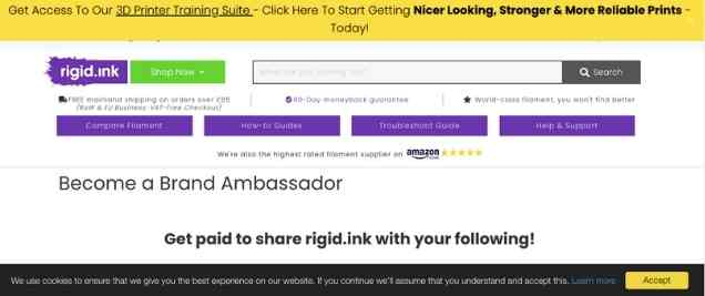 Rigid Ink Affiliate Program