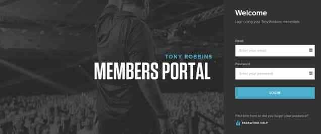 Tony Robbins Affiliate Program