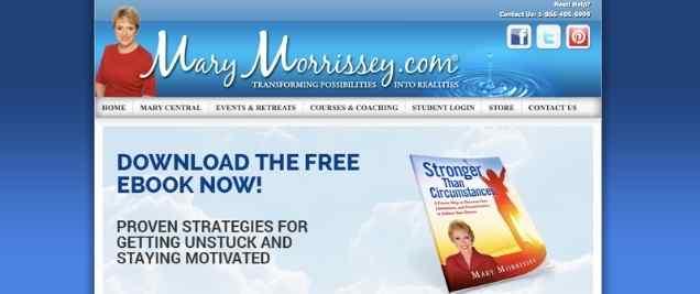 MaryMorrissey.comAffiliate Program