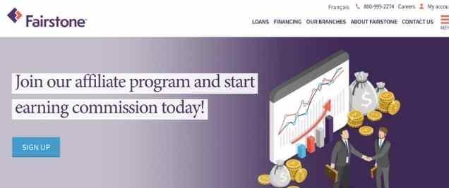 Fairstone Affiliate Program