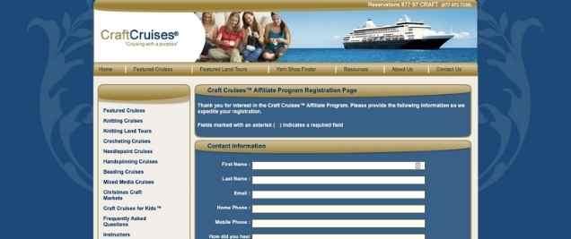 Craft Cruises Affiliate Program