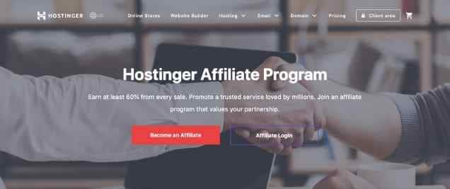 Hostinger Affiliate Program