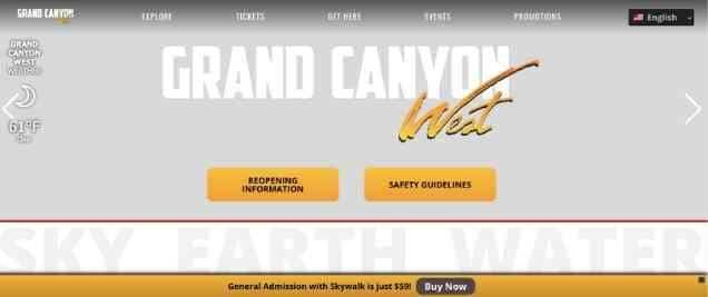 Grand Canyon West Affiliate Program