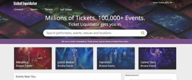 Ticket Liquidator Affiliate Program