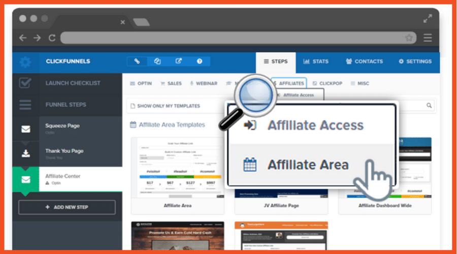 ClickFunnels Affiliate Management